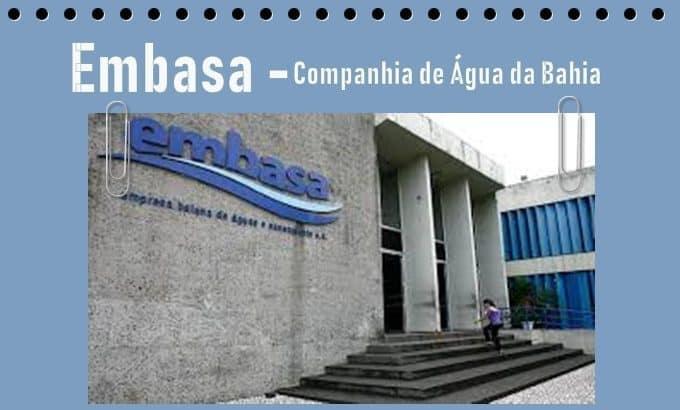 Embasa- Companhia de Água da Bahia
