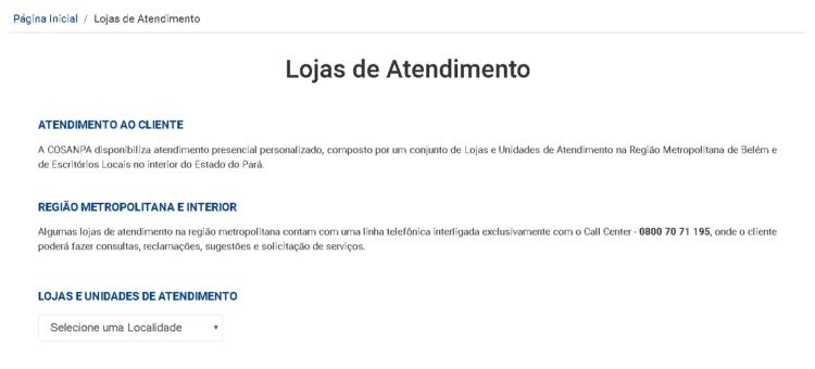 site oficial cosanpa